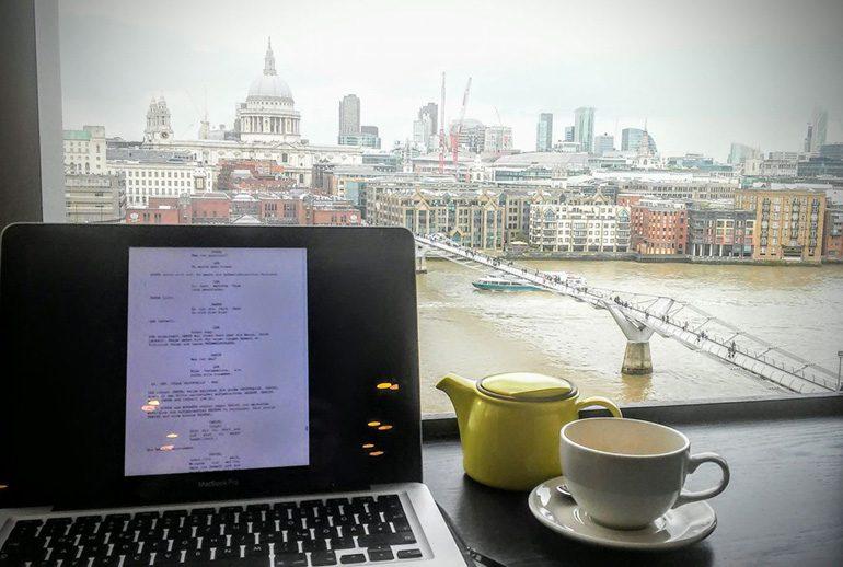 Writing in London, UK.
