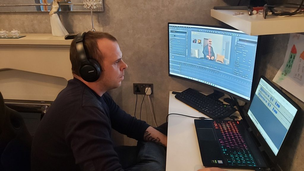 """Darren Holloway Finds His Calling as an Animator: """"Laughter is the best medicine."""""""