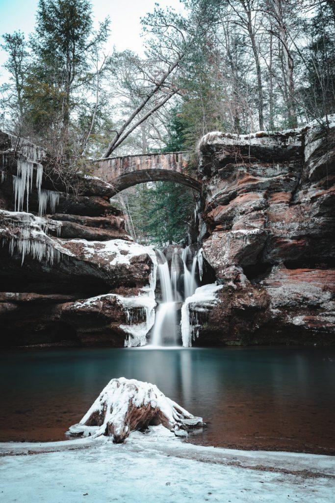 Winter Photo Contest - Upper Falls, Old Mans Cave, Ohio