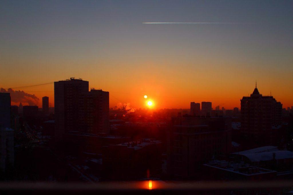 Winter Photo Contest: Winter Sunset