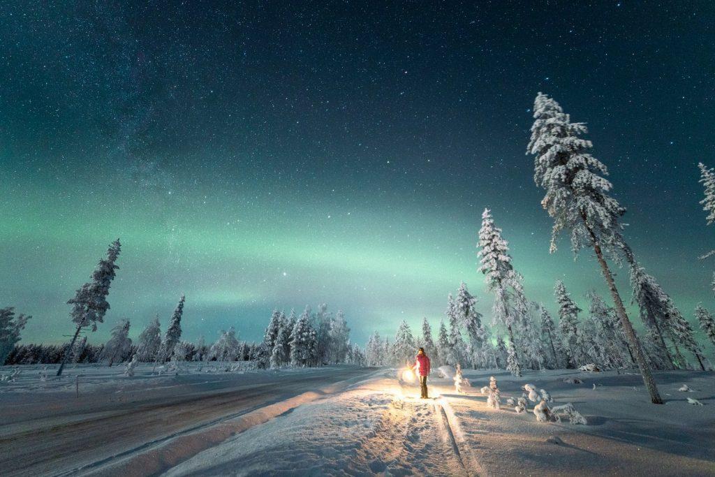 Winter Photo Contest: Winter Under the Northern Lights