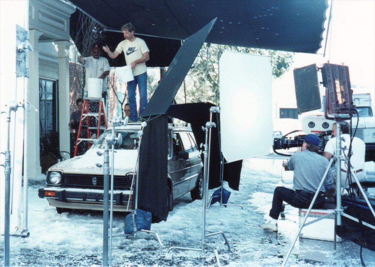 "Ken Zunder, ASC on the set of ""thirtysomething"""