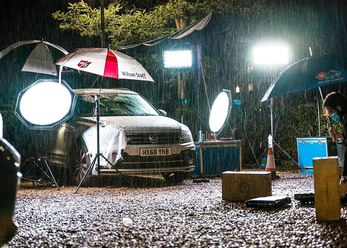 Lights, lighting setups. Making of: The ARK, directed by Benjamin South