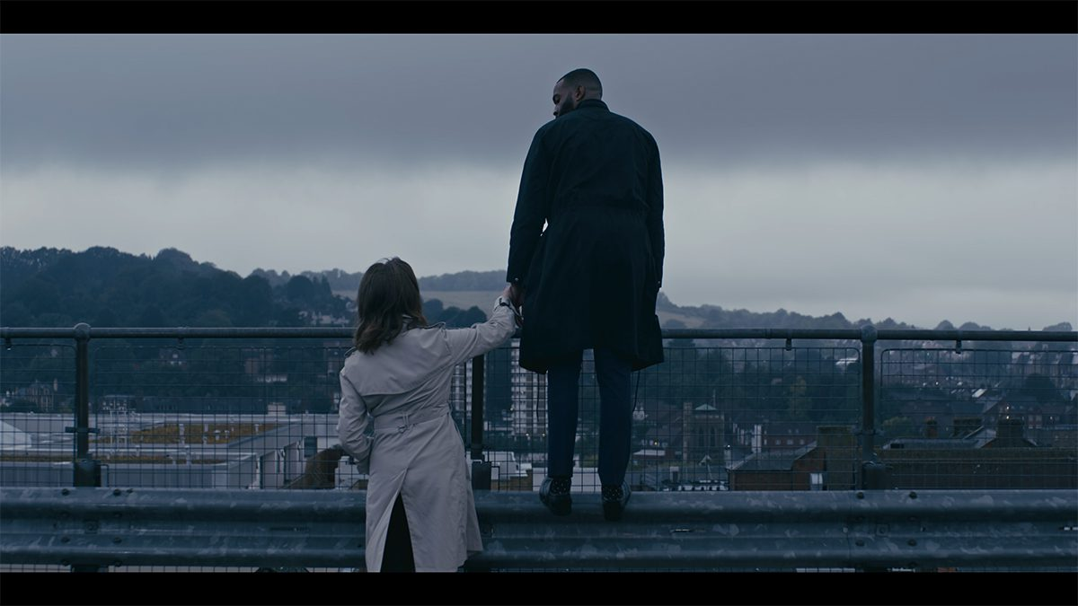 Rooftop scene. The ARK directed by Benjamin South