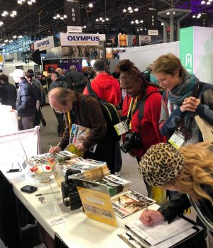 StudentFilmmakers Magazine Booth 665 @ PHOTOPLUS, Javits Convention Center, Manhattan, NYC