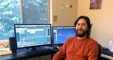 Ian McMahon Composer in Studio_StudentFilmmakers