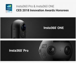 Insta360 CES 2018 Innovation Awards 3