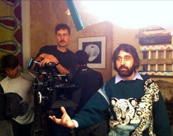 Jason Croot_on set