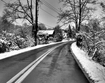 Winter Photo Contest First Snow Rockland County, NY