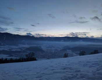Winter Photo Contest - Sunset with Winterlandscape