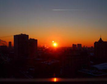 Winter Photo Contest - Winter Sunset