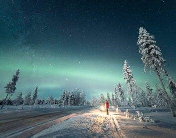 Winter Photo Contest - Winter under the Northern Lights